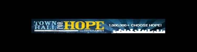 dave ramsey town hall for hope review