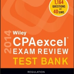 2014 Wiley Test Bank – REG
